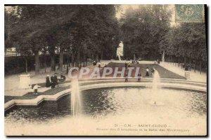 Postcard Old Saint Cloud Basin 3 Bouillons and chestnut room