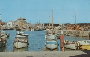 Cornwall Postcard - The Inner Harbour, Mevagissey RS24769