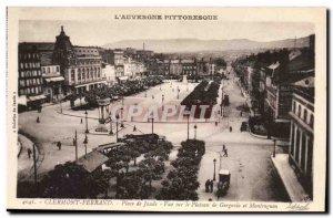 Clermont Ferrand - View Plateau Gergovin - Old Postcard