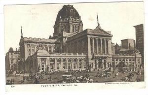 Post Office, Chicago, Illinois, 1900-1910s