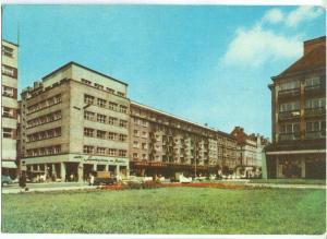 Poland, WROCLAW, Ulica Swidnicka, 1950s unused Postcard