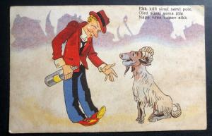 Mint Finland Comic Picture Postcard You Are Not That Handsome