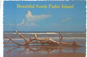 Beautiful South Padre Island, unused Postcard