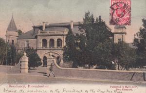 BLOEMFONTEIN, Indonesia, 1900-1910's; Residency