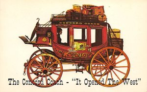 The Concorde coach – it opened the West Stagecoach Unused