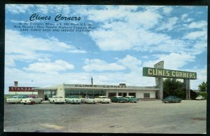 Clines Corners Route 66 New Mexico nm chrome postcard