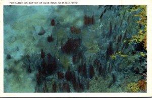 Ohio Castalia Formation On Bottom Of Blue Hole