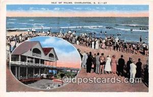Charleston, SC, USA Postcard Post Card Isle of Palms