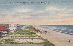 OCEAN DRIVE , South Carolins , 30-40s ; Hotel Dougalas MacArthur