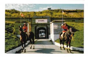 Canada Nova Scotia Halifax Citadel Entrance Bengal Lancers Vintage Postcard
