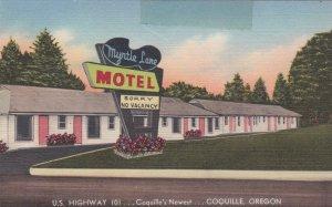 Oregon Coquille Myrtle Lane Motel U S Highway 101 sk773