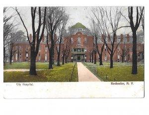City Hospital Undivided Back Rochester New York