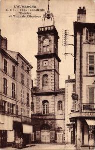 CPA L'Auvergne - ISSOIRE - Theatre et Tour de l'Horloge (220687)