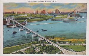 New York Buffalo The Peace Bridge