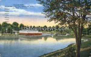 Pullen Park Raleigh NC 1950
