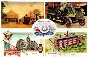 Connecticut Hartford Official Post Card Of The Conneticut Post Card Club