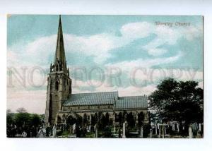 184007 UK Worsley Church and cemetery Vintage postcard