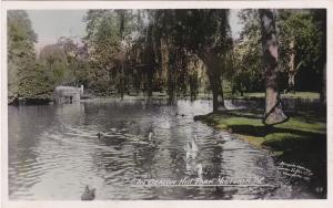 RP: VICTORIA , B.C. , Canada, 1920-1940s; In Beacon Hill Park