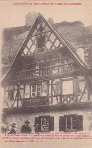 Curiosites et Merveilles de l'Alsace-Lorraine, Facade d'Une Maison De Kaysers...