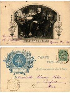 CPA AK MELCHIOR DE VOGUE WRITER (500217)