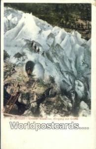 Norway, Norwegian, Norge, Norske Grindelwald Unterer Gletscher, Eingang zur G...