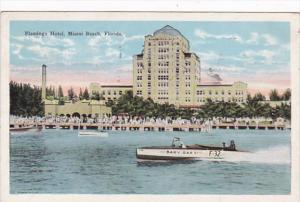 Florida Miami Beach Flamingo Hotel 1927