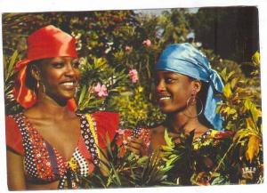 HAITI, 50-70s ; Smile of Haiti, Two women