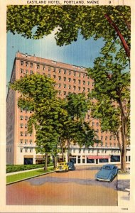 Maine Portland The Eastland Hotel 1942