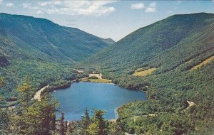 Echo Lake From Artists Bluff Franconia Notch New Hampshire 1965
