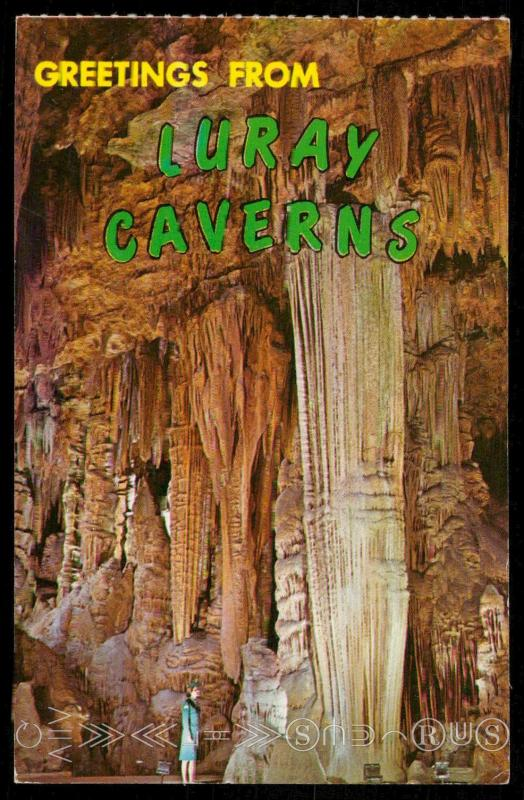 Greetings From Luray Caverns