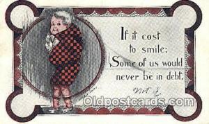 Artist Shinn, Cobb Postcard Post Card, Old Vintage Antique  Artist Cobb Shinn...