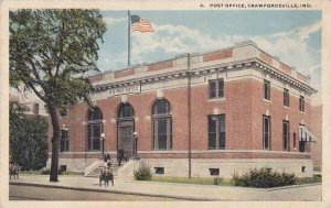 Indiana Crawfordsville Post Office