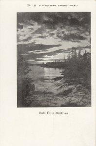 BALA FALLS, Muskoka , Ontario, 1900-10s; Sunset View