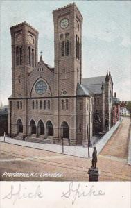 Rhode Island Providence Cathedral 1907
