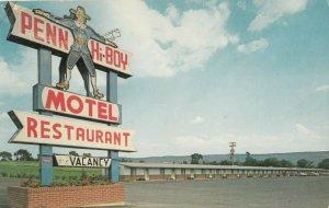 STATE COLLEGE , PENN., 1950-60s ; PENN HI-BOY Motel