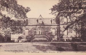PAUILLAC, Gironde, France, 1900-1910's; Chateau Bellegrave