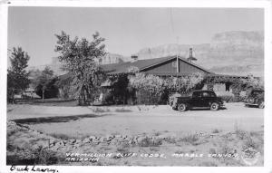 Vermillion Cliff Lodge, Marble Canyon, AZ Frasher Real Photo Postcard