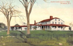 Wickford Rhode Island Smith Castle Exterior Antique Postcard K13793