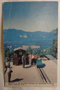 Postcard Mt Cranmore Skimobile North Conway New Hampshire Moat Mountain 2023