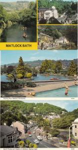 Boating Lake Matlock Heights Of Abraham 3x 1970s Postcard s