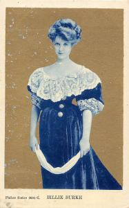 Edwardian Actress Billie Burke 1906