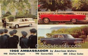 American Motors Postcard Post Card 1966 Ambassador