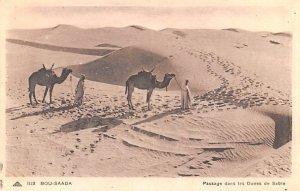 Passage dans les Dunes de Sable Bou Saada Egypt, Egypte, Africa Unused