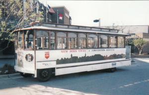 NEW BERN, North Carolina, 1950-60s; Trolley, New Bern Tours