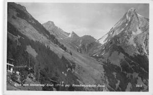 Austria Blick vom Steinerkogl Haus 1270 m gegen Brandbergerkolm Haus AK