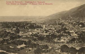 venezuela, MAIQUETIA, Vista General (1910s)
