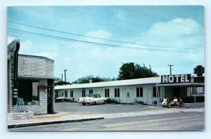 Postcard FL Key West El Prado Motel c1950's E21