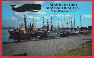 NEW BEDFORD MASS. THE WHALING CITY  SEE SCAN