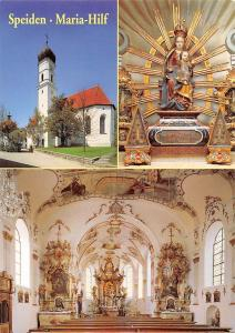 Eisenberg Speiden Allgaeu Wallfahrtskirche Maria Hilf Church Interior view