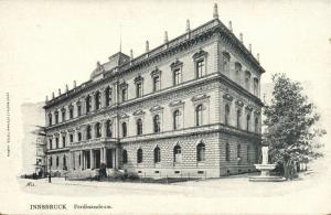 austria, INNSBRUCK, Ferdinandeum Museum (1899) Postcard